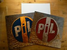 PIL Reggae Song Out Of The Woods 2x Vinyl Record PiL003 UK & USA & Signed Poster