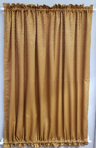 """Coin Jacguard french door Curtain 53"""" W by 72"""" length SASH"""