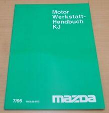 MAZDA Motor KJ Instandsetzung Schmierung Reparatur 1995 Werkstatthandbuch