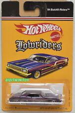 HOT WHEELS LOWRIDERS '64 BUICK RIVIERA K4760 PURPLE W+