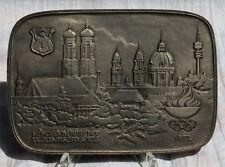 """Buderus Kunstguss - Gusseiserne Reliefplatte """" Olympische Spiele 1972  """" ! Nr.37"""