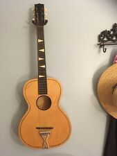Vintage noname parlor acoustic guitar 1950's - Early 1960's (United Made) USA