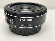 Canon - EF 40mm f/2.8 STM Standard Lens - Black