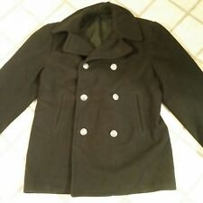 Peacoat 100% Wool Coats & Jackets for Men | eBay
