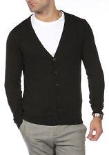 Blu Cherry Mens V Neck Premium Cotton Knitted Lightweight Jumper Pullover