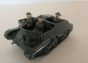 BRITAINS LTD Carden Lloyd Type Bren Gun Carrier with Driver & Gunner & Guard