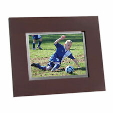 """Brookstone Digital 8"""" Picture Frame Plus Music and Videos 630855"""