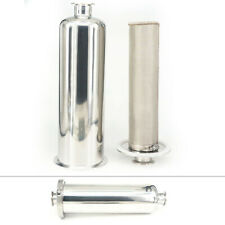 """38mm Pipe OD 1.5"""" Tri Clamp w/In-line Filter Strainer Brewing For beer beverage"""