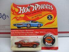 Original CARDED Hot Wheels Redline 1967 CAMARO ORANGE UNOPENED Blister RARE