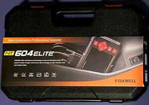Foxwell NT604 Elite 4 System Professional Diagnostic Scanner NEW Lifetime Update