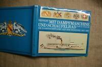 Fachbuch Dampfschiffe, Schaufelraddampfer, Bodensee 1817-1967, Schiffbau