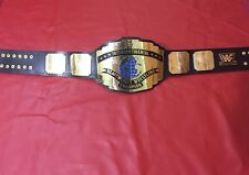 WWF INTERCONTINENTAL CLASSIC CHAMPIONSHIP BELT IN 4MMBRASS PLATES FREE SHIPPING