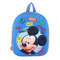 Mochila Disney Mickey Mouse Mochila Oficial Con Tirante Niños Escuela 3250