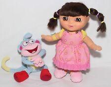 Dora the Explorer Sweet Dreams Dora & Boots Plush