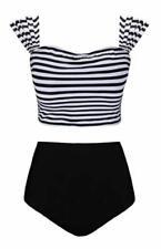 93623c3552dba Polyamide High Waist Bikini Swimwear for Women | eBay