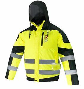 Arbeitsjacke Winterjacke Berufsjacke Winter Schutz Regen Jacke Wasserabweisend