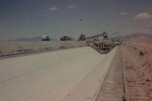 WELLTON MOHAWK CANAL CONSTRUCTION 35MM SLIDE (CIRCA 1950`S) LOT L109