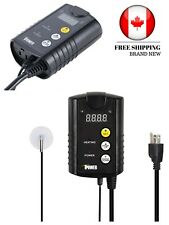 iPower 40-108 Degrees Fahrenheit Digital Heat Mat Thermostat Controller BLACK
