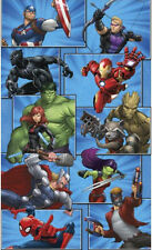 MARVEL TEAM wall stickers MURAL decal Superheroes Groot Hulk Spiderman Ironman