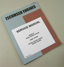 WHEEL HORSE CHARGER 8 LAWN MOWER TRACTOR TECUMSEH VH80 ENGINE SERVICE MANUAL