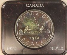 1972 Canada Dollar Silver Proof with Lovely Toning    ** FREE U.S. SHIPPING **