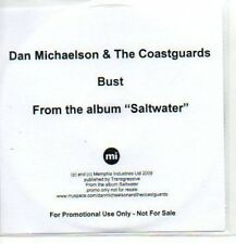 (909H) Dan Michaelson & The Coastguards, Bust - DJ CD