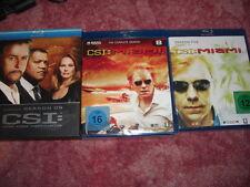 CSI season 9 bluray,CSI:Miami Season 5 part 1 & complete season 8 Bluray's NEW
