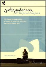 Justinguitar.com Beginner's Songbook Justin Sandercoe 2nd Edition Spiral Bound