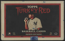 2006 Topps TURKEY RED Baseball Cards - Fact Sealed Box