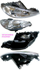 Peugeot 206 98 bis 2009 Scheinwerfer H4 für elektrische Verstellung Rechts