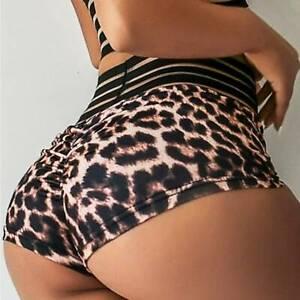 TikTok Women's Hot Pants Push Up Yoga Shorts Scrunch Sports Booty Gym Fitness
