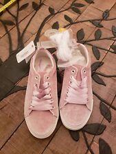 Gymboree Youth Girls Size 2 Pink Velvet Shoes