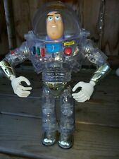 "DISNEY PIXAR TOY STORY 12"" THINKWAY INTERSTELLAR CLEAR BUZZ LIGHTYEAR"