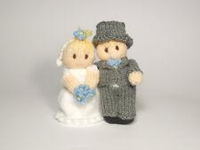 Bride and Groom Wedding Bitsy Baby Dolls Knitting Pattern