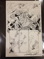 "OA Original Art! ALEX MILNE Transformers: MTMTE #2 Page 3 11"" by 17"""