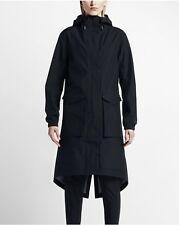 Women's Nike NikeLab Essentials Storm-FIT Parka Jacket Black M 841582 010 $325