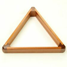 2 1/16th Inch 15 Snooker Ball Peradon Luxury Solid Mahogany Wooden Triangle