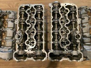 Genuine OEM BMW E70 E71 X5M X6M M5 M6 4.4L V8 S63b44a Complete Cylinder Heads