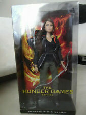 New The Hunger Games Katniss Everdeen Doll Barbie Collector Black Label 2012