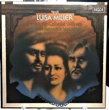 Giuseppe Verdi - Luisa Miller - Decca U.K 3 x Vinyl LP Box Set - NEAR MINT