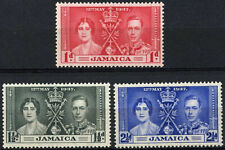 Jamaica 1937 SG#118-120 KGVI Coronation MH Set #D98238