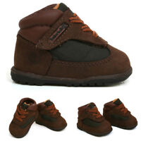 Timberland Field Crib Infant Toddler Brown Green Casual Boots NOUVEAUX-NE 17803
