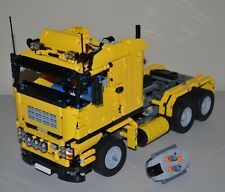 NEW LEGO TECHNIC YELLOW 8258 V10 CUSTOM TRUCK w/ Power Functions 8882/8883/8884