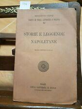 BENEDETTO CROCE - STORIE E LEGGENDE NAPOLETANE - 1923 LATERZA (3356) ILLUSTRATO