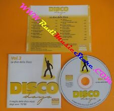CD DISCO DAYS VOL 3 PROMO compilation 2002 DIANA ROSS GLORIA GAYNOR (C14*)