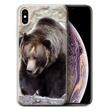 Animaux sauvages Coque Gel pour iPhone XS Max/Ours