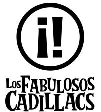 Los Fabulosos Cadillacs,Vinyl Decal,Sticker for Cars,Windows,Laptops and more