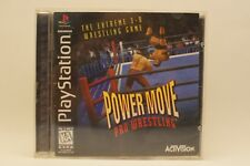 Power Move Pro Wrestling (Sony PlayStation 1, 1996)