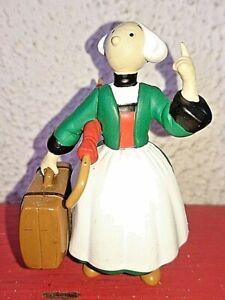 STATUETTE FIGURINE BECASSINE GAUTHIER LANGUEREAU 2002 HACHETTE en resine