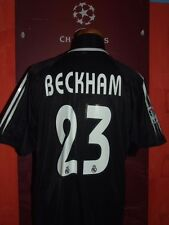 BECKHAM REAL MADRID 2004/2005 MAGLIA SHIRT CALCIO FOOTBALL MAILLOT JERSEY SOCCER